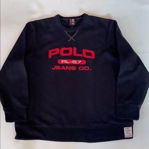 Ralph Lauren Polo Jeans Fleece Sweatshirt